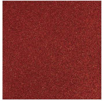 Designer Papier Scrapbooking: 30,5 x 30,5 cm Papier Glitter rød papir, 30,5 x 30,5 cm