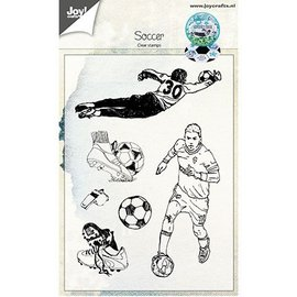Joy!Crafts / Jeanine´s Art, Hobby Solutions Dies /  Transparant / Clear Stamp: Soccer