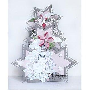 Bilder, 3D Bilder und ausgestanzte Teile usw... A4 Bilderbogen: Winter dream – pink