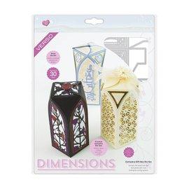Tonic Studio´s Ponsen sjabloon voor het ontwerp van een doos / box