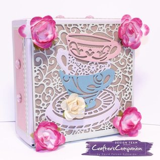 Die'sire Stanzschablone: Create a card, Tea Party