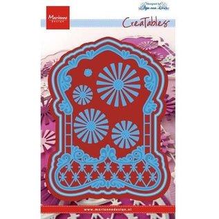 Marianne Design Stansmessen: Het etiket van Anja's