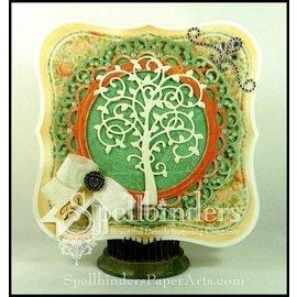 Spellbinders und Rayher Punzonatura - e emboss.templ, albero modello in metallo