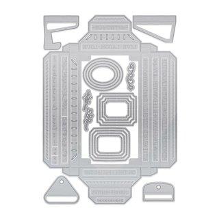 Tonic Studio´s Basic per creare scatole ombra: fustelle