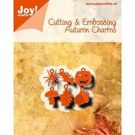Joy!Crafts / Jeanine´s Art, Hobby Solutions Dies /  Ponsen sjabloon: 6 Charms herfst motieven