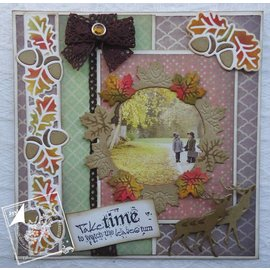 Joy!Crafts / Jeanine´s Art, Hobby Solutions Dies /  Stansning skabelon: Blade Wreath