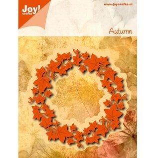Joy!Crafts / Jeanine´s Art, Hobby Solutions Dies /  Stanzschablone: Blätter Kranz