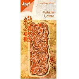 Joy!Crafts / Jeanine´s Art, Hobby Solutions Dies /  La perforación de plantilla: Hojas