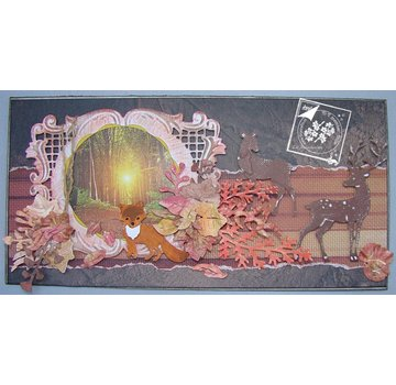 Joy!Crafts / Jeanine´s Art, Hobby Solutions Dies /  Stamping template: leaves