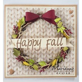 Marianne Design cutting dies: Wreath