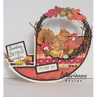 Marianne Design Stanzschablonen:Kranz