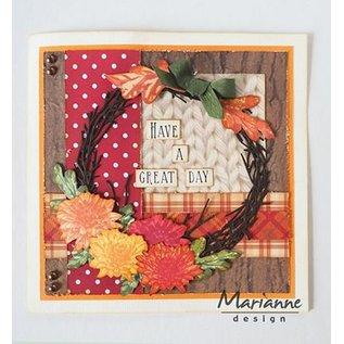 Marianne Design Cutting dies: Wreath