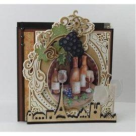 Marianne Design Troqueles de corte: Uvas con las vides de uva