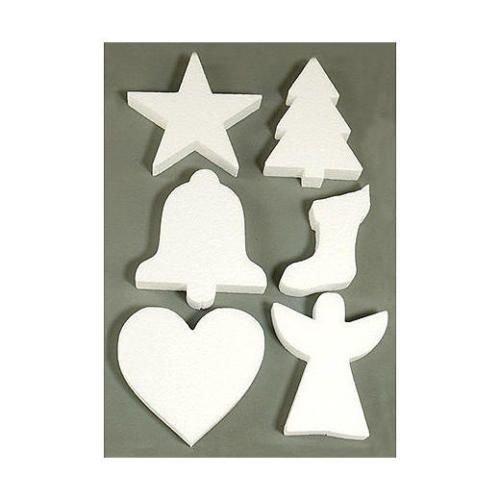Knöpfe Weihnachtsmotive.Objekten Zum Dekorieren Objects For Decorating 6 Weihnachtsmotive Im Styropor