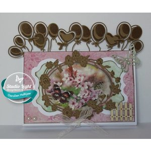Studio Light Stamping template: Ceilibrate balloons