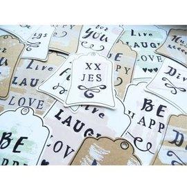 Marianne Design matrices de découpe: étiquettes (forme de base)
