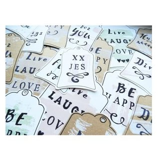 Marianne Design Stamping templates: Labels (basic shape)