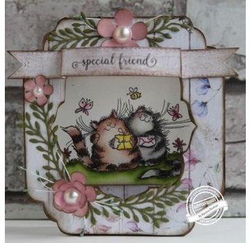 CREATIVE EXPRESSIONS und COUTURE CREATIONS Cutting & Embossing Dies: Olive Branch