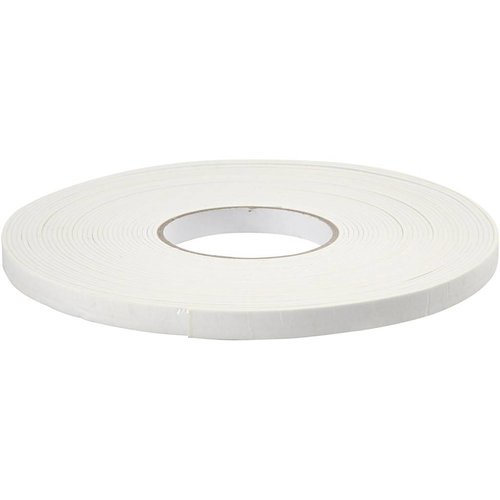 BASTELZUBEHÖR, WERKZEUG UND AUFBEWAHRUNG 3D foam tape, b: 12 mm, dikte: 2 mm, 15m