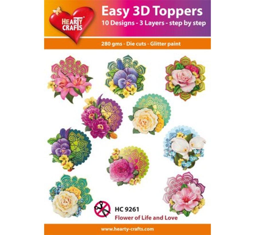 3D Easy Toppers: Blumen + 3D Klebepads! (mit Produkt Video)