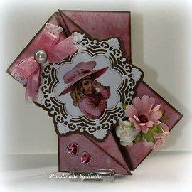 Joy!Crafts / Jeanine´s Art, Hobby Solutions Dies /  Punzonatura modello: cerchio ornamento e fiori