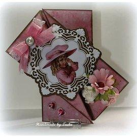 Joy!Crafts / Jeanine´s Art, Hobby Solutions Dies /  La perforación de plantilla: círculo ornamental y flores