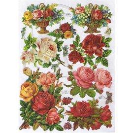 Bilder, 3D Bilder und ausgestanzte Teile usw... A5, scarti: Roses
