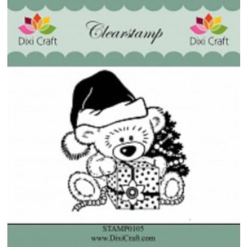 Stempel / Stamp: Transparent Clear, Transparent Stamp: Christmas Teddy Bear