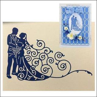 Tattered Lace Troqueles de corte: Pares de la boda