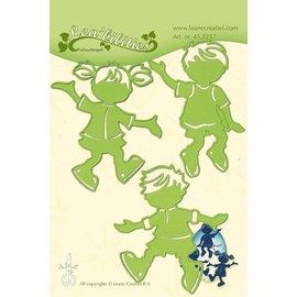 Leane Creatief - Lea'bilities und By Lene Stamping template: children
