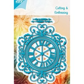 Marianne Design Stamping- and pre-template: Clock