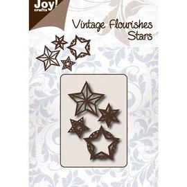 Joy!Crafts / Jeanine´s Art, Hobby Solutions Dies /  plantilla de perforación: Estrellas