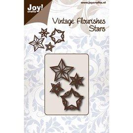 Joy!Crafts / Jeanine´s Art, Hobby Solutions Dies /  Stansning skabelon: Stjerner