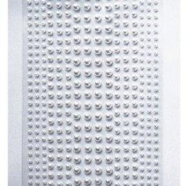 Embellishments / Verzierungen Decoration Klebe Perlen in weiss