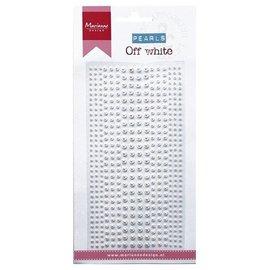 Embellishments / Verzierungen perlas de adhesivo de decoración en crema