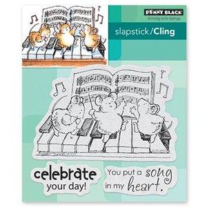 Penny Black Stamp: Celebration Song