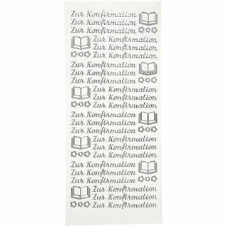 """STICKER / AUTOCOLLANT Stickers, Duitse tekst, """"om te bevestigen"""""""