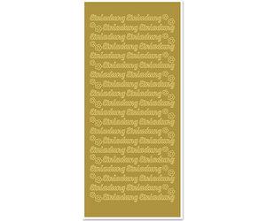 Sticker arco letras//números 10 x 23 cm-Plata