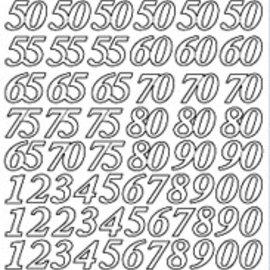 Sticker Sticker, numeri Giubileo in oro