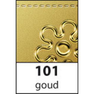 STICKER / AUTOCOLLANT Sticker, Jubilee nummers in goud