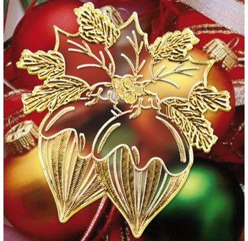 Sticker Klistermærker med 18 detaljerede præget Jul