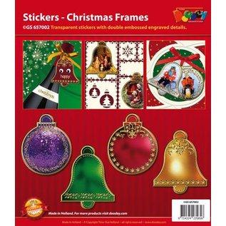 STICKER / AUTOCOLLANT Sticker: 6 ballen en 6 klocken