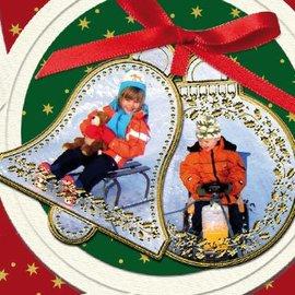 STICKER / AUTOCOLLANT Sticker: 6 palline di Natale e 6 klocken