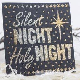 Schablonen, für verschiedene Techniken / Templates Universal sjablonen, Silent Night