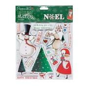 Stempel / Stamp: Transparent Gummi stempel: Weihnachtsmotive