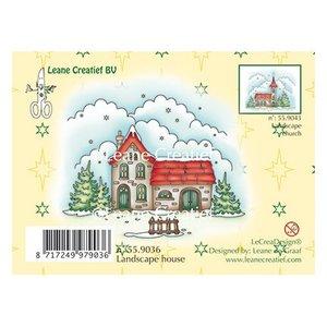 Leane Creatief - Lea'bilities und By Lene Stamp, maison Paysage d'hiver