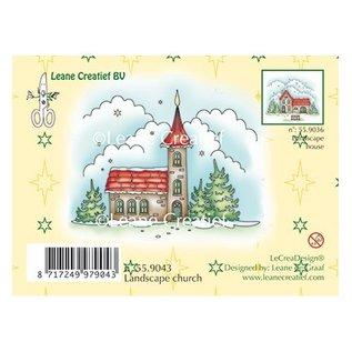 Leane Creatief - Lea'bilities und By Lene Stamp, vinterlandskap kirke