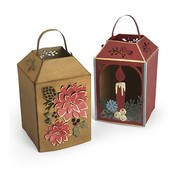 Sizzix Stamping stencils: for a lantern