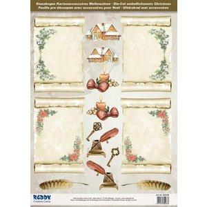 Bilder, 3D Bilder und ausgestanzte Teile usw... A4 punching sheet: parchment rolls