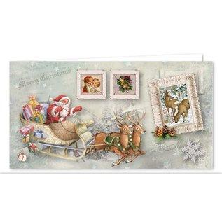 BASTELSETS / CRAFT KITS volledige ambachtelijke set voor 12 kaarten!